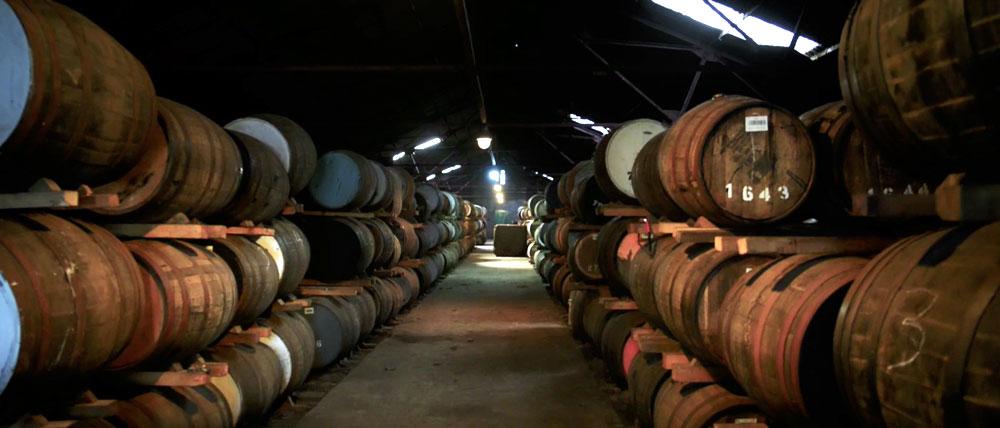 La fabrication du whisky Sir Edward's