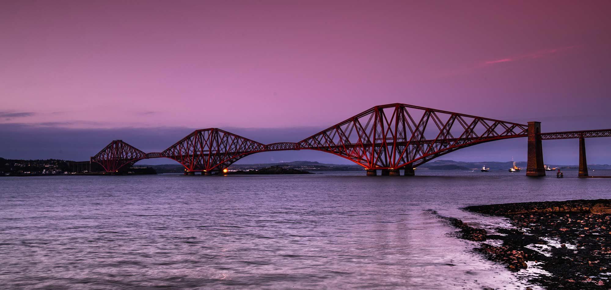 forth bridge scotland roadtrip siredwards