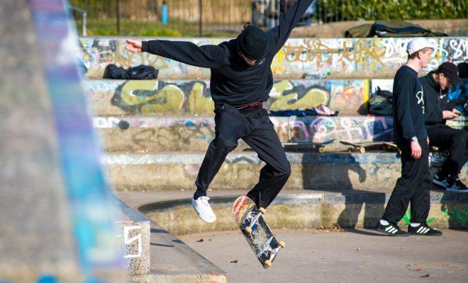 Glasgow, a trip to the skatepark