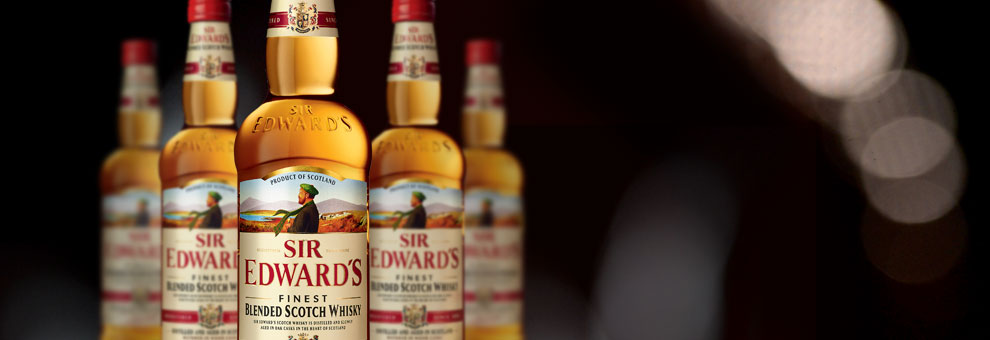 The Sir Edward's Scotch whisky range