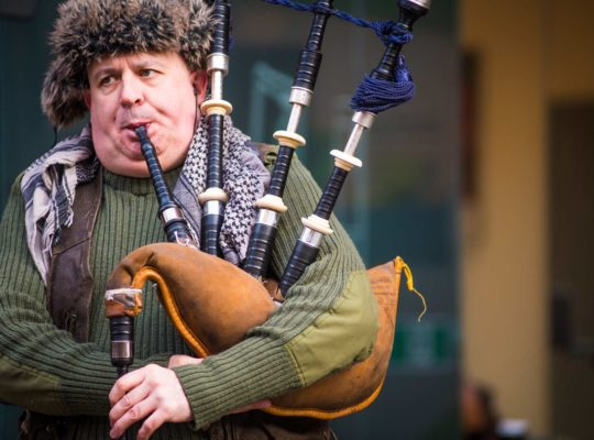 The bagpipe, a question of breath