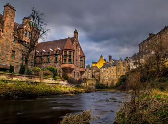 An unusual stroll in Edinburgh? Dean Village!