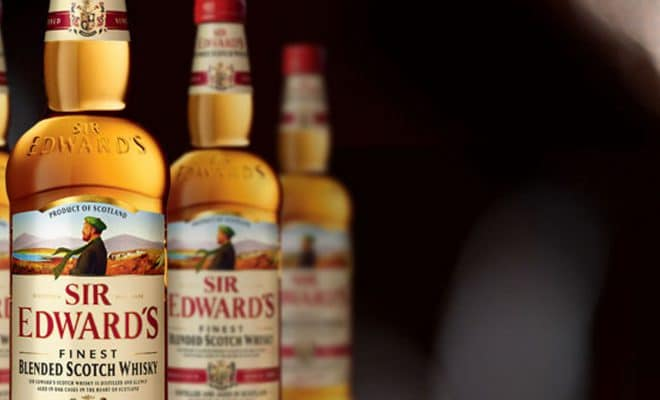 our whiskies sir edwards