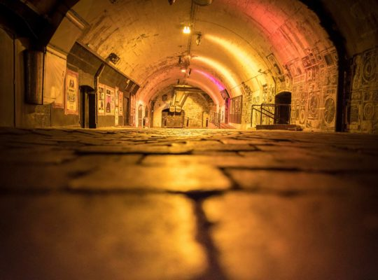 "In Aberdeen, the night takes place ""underground""!"