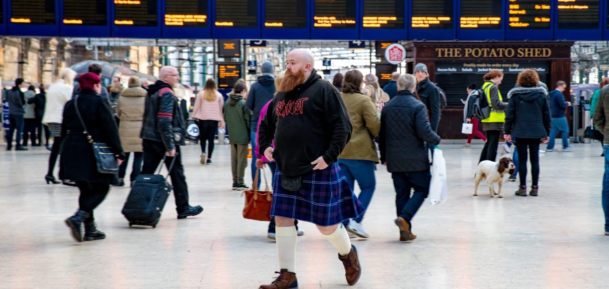 glasgow train station roadtrip scotland siredwards