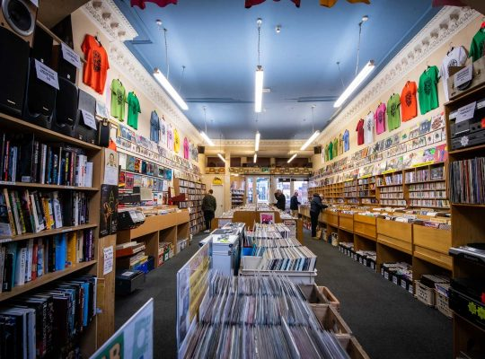 Groucho's in Dundee, more than a record store!