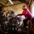 In a Harris Tweed weaving workshop
