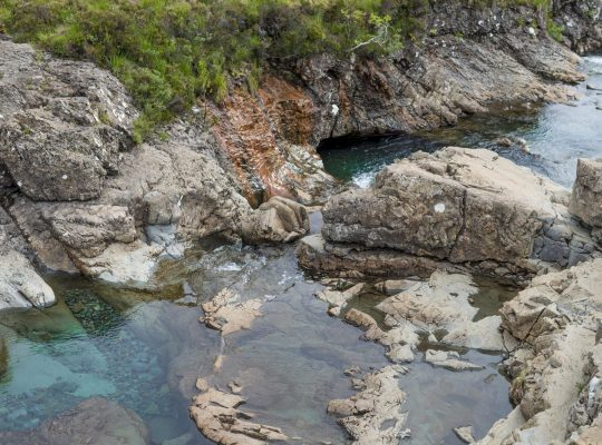 A dip in the Fairy Pools!