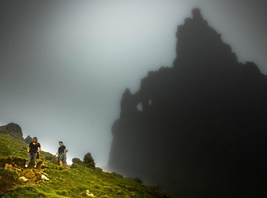 I (almost) saw the Old Man of Storr