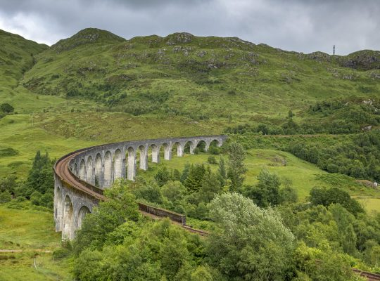 In the footsteps of Harry Potter in Scotland