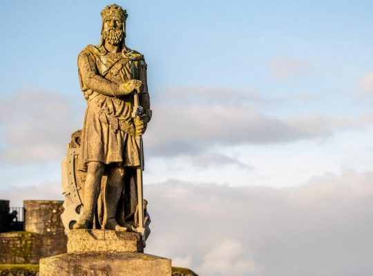 Robert the Bruce, hero of the Scots