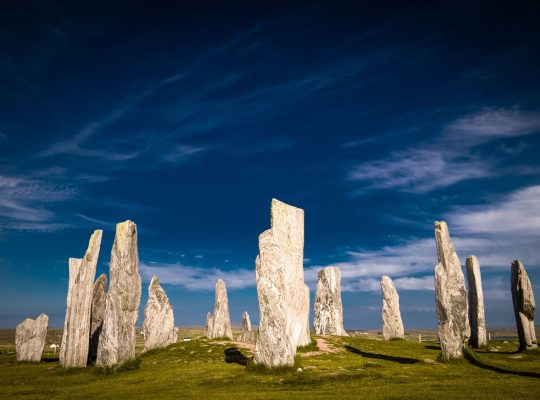 The mystery of the raised stones of Calanais