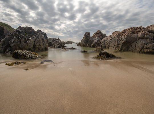 The rocks of Mangarstadh