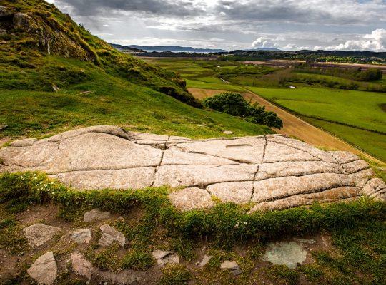 Dunadd, the Dalriada kings imprint