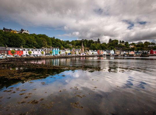 Tobermory, the multicoloured city