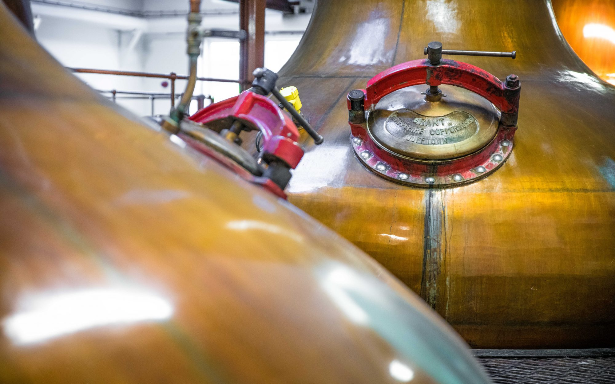 The still, the secret of Scotch Whisky!