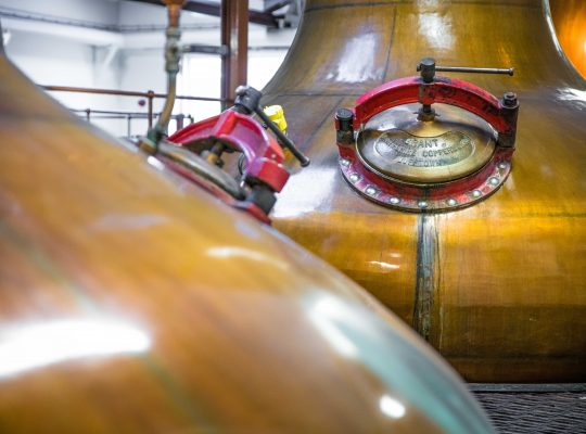 The still, the secret of Scotch Whisky!