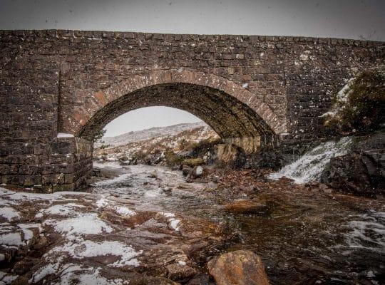 Bealach na Bà, one of the most beautiful roads in Scotland