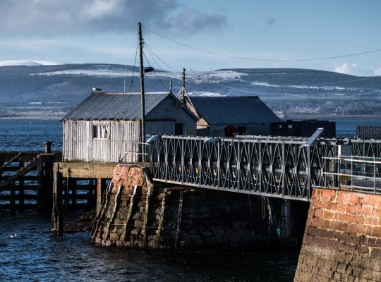 Cromarty, old stones and the taste of the sea