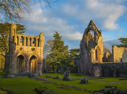 Dryburgh Abbey, the peaceful