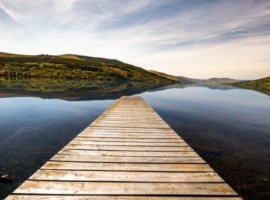 Loch Tay, a unique panorama