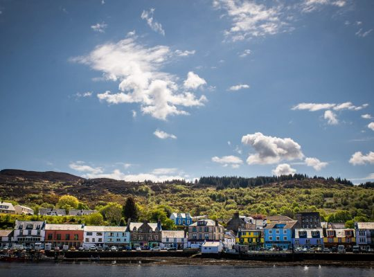 Tarbert in the sun