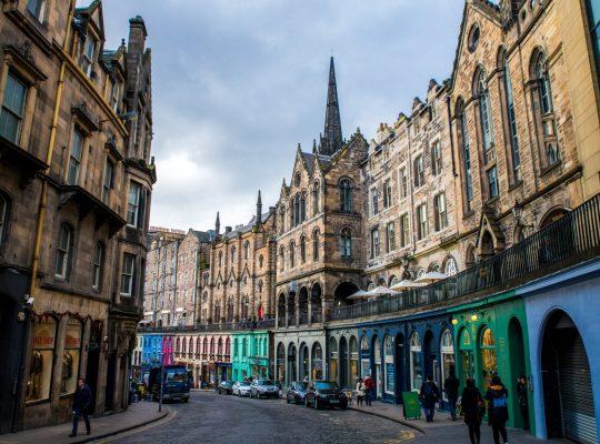 Victoria Street, Edinburgh's Rainbow Street